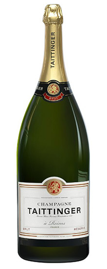Taittinger Brut Reserve Mathusalem NV